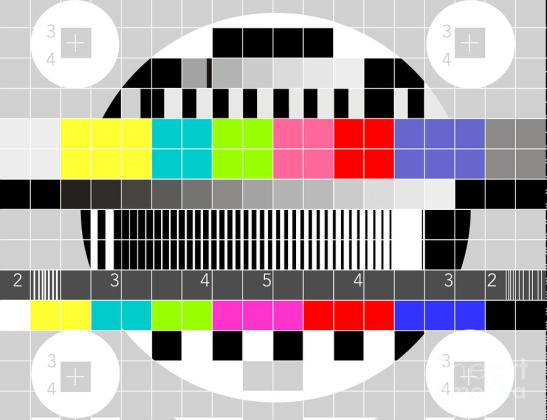 Tv Multicolor Signal Test Pattern Artist: Aloysius Patrimonio